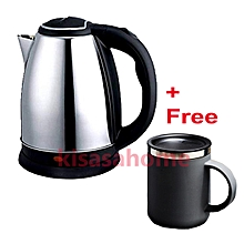 Electric Kettle 2L + Free Mug
