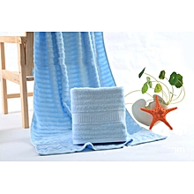 100% Bamboo Baby Towel  - Blue