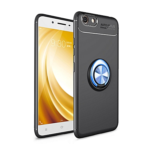 Rotating Ring TPU Cover Case for VIVO Y53 (2017)