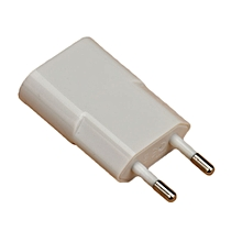 European USB Power Adapter EU Plug Wall Travel Charger For Samsung WH-White