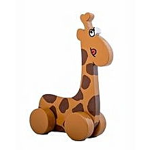 Animals on Wheels - Giraffe - Brown