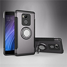 KZ Slim Fit Hybrid Dual Layer Armor Shock Absorption Rugged Defender with Ring Holder Kickstand Drop Protection Soft Rubber Bumper Case Cover for Xiaomi Redmi 4 Pro / Redmi 4 Prime   XXZ-Z
