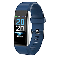 Smart Sports Bracelet ID115 Plus Fitness Tracker Waterproof Smart Wristband Blue