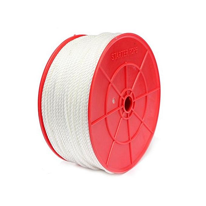 100mx2 5/3 5/4/4 5mm Nylon Pull Starter Recoil Start Cord Rope Lawnmower  Roll