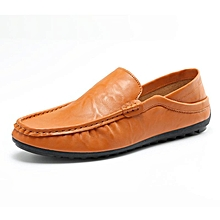 09cc77dcaee Fashion Leather Slip On Men Driving Moccasins Loafers Casual Shoes England  Dress-EU