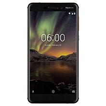 6.1 (2018) 5.5-Inch IPS (4GB, 64GB ROM) Android 8.0 Oreo, 16MP + 8MP Hybrid Dual SIM LTE Smartphone - Black