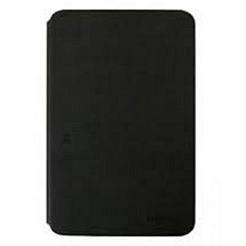 reputable site efb5e 3c5be Leather Back Case For Galaxy Tab A6 7.0 SM-T280 SM-T285 Cover Black