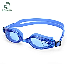 Anti-fog UV Protection HD Vision Swimming Glasses Swimwear Goggles - Blue