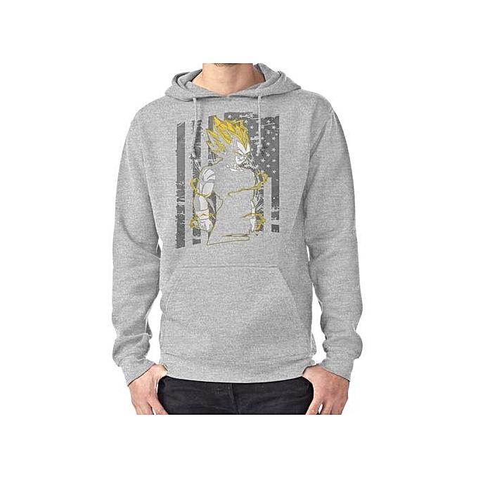 8efd3b46be Hot Sale Vegeta - 29 Autumn Men Hoodies Printing Warm Winter Hooded  Sweatshirt