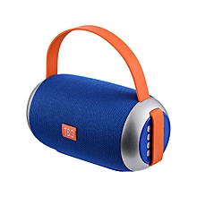 Portable Bluetooth Speaker with  Microphone (Blue)