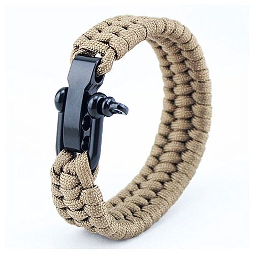 Buy Allwin Tactical Paracord Umbrella Rope Bracelet Steel Buckle