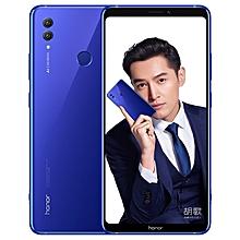 Huawei Honor Note 10, 6GB+128GB, Dual AI Rear Cameras, Fingerprint Identification, 5000mAh Battery, GPU Turbo, 6.95 inch EMUI 8.2 (Android 8.1) Kirin 970 Octa Core, 4 x Cortex A73 2.36GHz + 4 x Cortex A53 1.8GHz, Network: 4G, OTG (Blue)