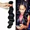 1 Bundle Black Brazilian Virgin Body Wave Hair Human Hair