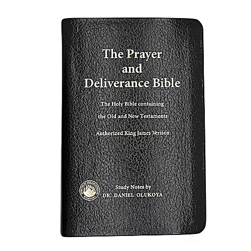 Prayer and Deliverance Bible (Small & Leather Bond) - Dr  D K  Olukoya