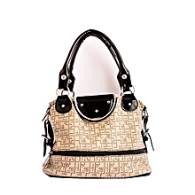 Black and white ladies handbag