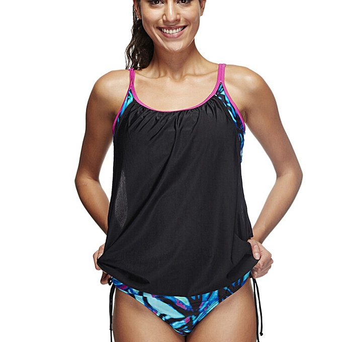 820352b8f2 Swimwear, Surfwear & Wetsuits SMILEQ Women Tankini Sets With Boy Shorts  Ladies Swimwear Two Piece Swimsuits