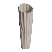 Ceramic Vase - Small - Grey-Yellow