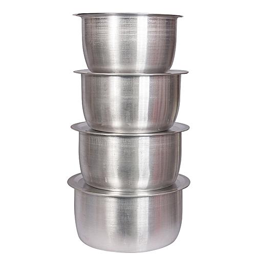 Generic 16 Pcs Set Of Stainless Aluminium Sufuria No 1 4