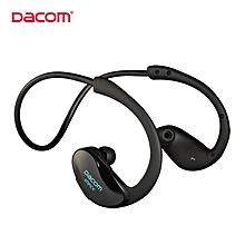 Earphone for Sport, Dacom G05 Athlete Bluetooth Wireless Running Stereo Waterproof Earphone with Mic(Black)