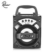 MS - 308BT Portable Bluetooth Speaker With LED Lights 3 Inch Driver Unit