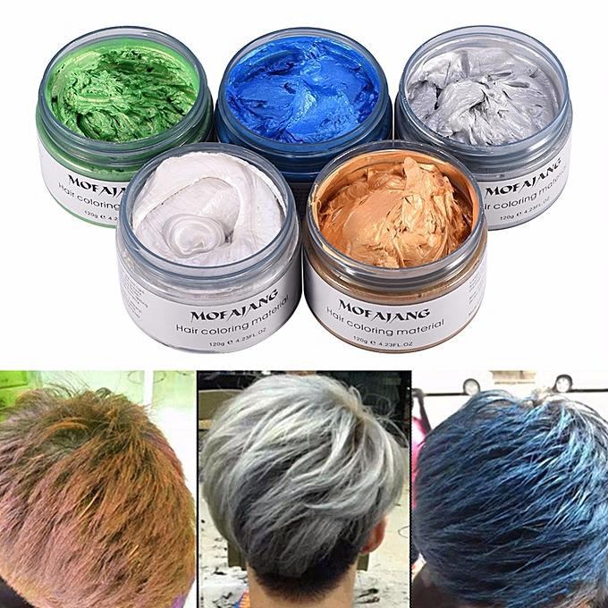 Generic MOFAJANG 120g Hair Coloring Silver Ash Grey Strong Hold ...