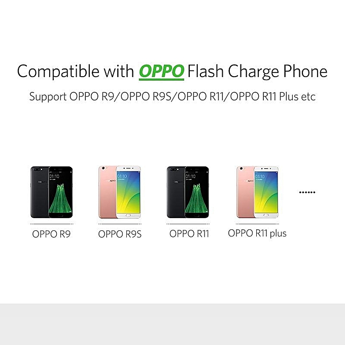 0 5Meter 4A Micro USB Cable for OPPO F1 Plus/Find 7/R9/R9S/R11/R11 Plus  VOOC Flash Charging Data Cable BDZ