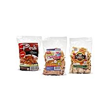 Value Pack Set (2 Chapati crisps, 2 Honey roasted banana crisps, 1 Pork bites) – Multicolour