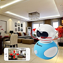Mini Robot Home Security Surveillance HD Pan And Tilt WiFi Camera-White