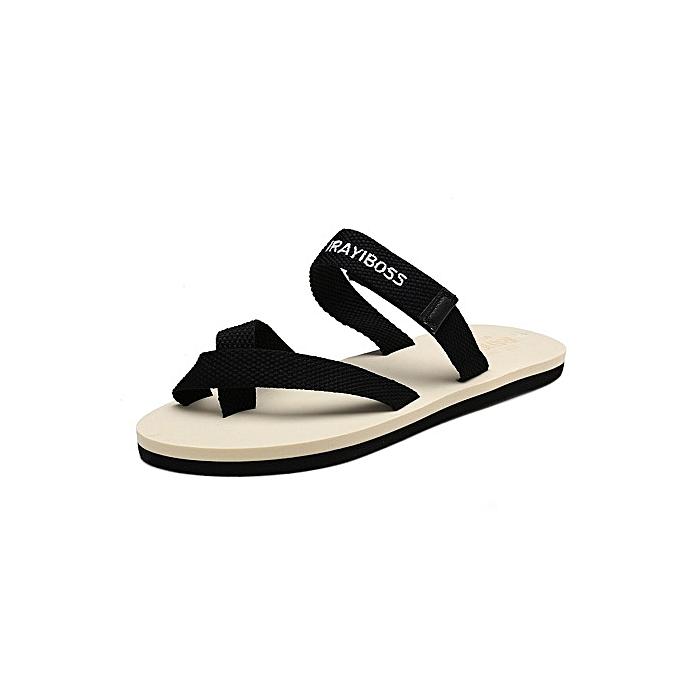 18dbc85cbe8c Refined Super Large Size Men s Soft Flip Flops Waterproof Slip Breathable  Slippers beach slippers-white