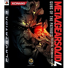 PS3 Game Metal Gear Solid 4 Gun Of The Patriots