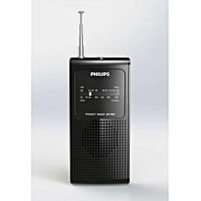 AE1500/00 - FM/MW Analogue tuning Portable Radio - Black