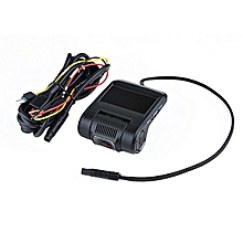 OR Wifi HD Night Vision Front Single Lens Driving Recorder With Display Screen Black