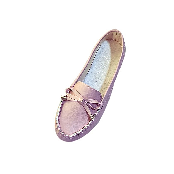 e94ba7a28278 Summer Women Flats Shoes Casual Flat Women Shoes Slips Flat Women s Shoes-Pink  (EU