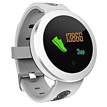 Q8 Pro 0.95 Inch OLED Bluetooth Smart Watch IP68 Waterproof Tracker Smartwatch White