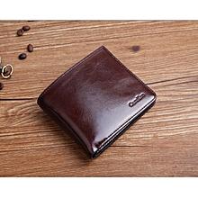 Men Soft genuine leather wallets