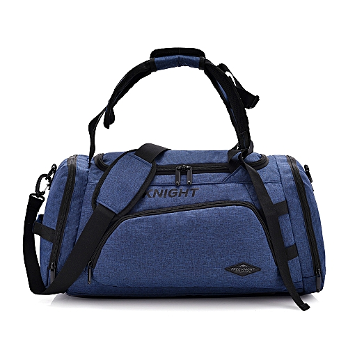 Free Knight Multifunctional Sports Gym Bag with Shoes Compartment Travel Duffel  Bag Backpack for Men and Women 4b56886ace3b8