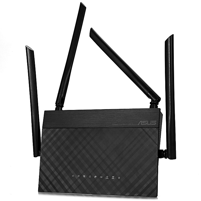 Buy ASUS RT-AC1200 Wireless Router 2.4GHz / 5GHz Network WiFi ...