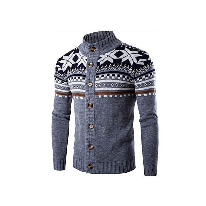 0d8f82d3126 Men Christmas Cardigan Sweater Winter Plus Size Men sweaters Long Sleeve  Jacket Casual Knitted Sweater