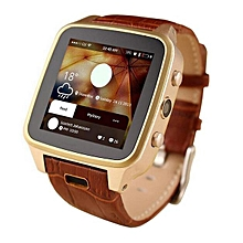High Quality M8 Bluetooth Smart Watch 8G Android 4.2 Smart Phone Smartwatch With SIM Card 3MP Camera GPS WIFI CXF123 (Color:Gold)