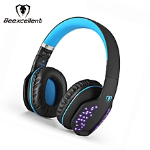 Q2 Wireless Headset - Black & Blue
