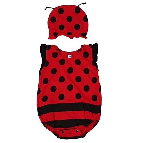 4968c1d91 UNIVERSAL Baby Toddler Cartoon Romper Bodysuit Jumpsuit With Hat Red ...