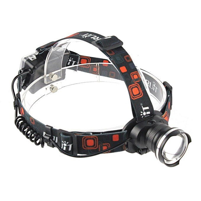 XML T6 LED Headlamp Zoomable Flashlight 3-Mode Waterproof Camping Hunting  Headlight Lanterns Portable Tactical Head Torch BIL