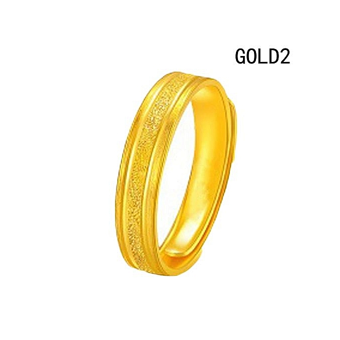 Buy Fashion Couple Rings Women Men Wedding Ring Gold Plated Lovers