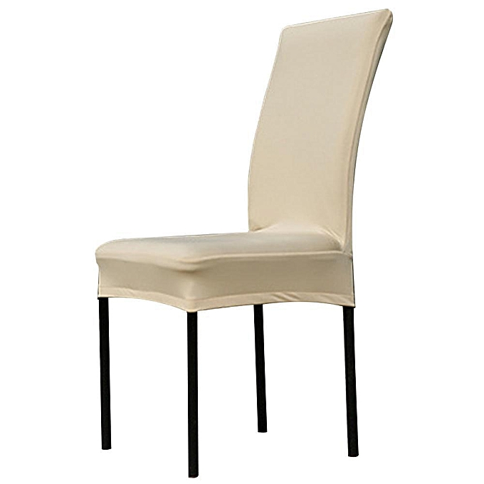 Universal Stretch Removable Washable Short Dining Chair Cover Protector Seat Slipcover For HotelDining Room