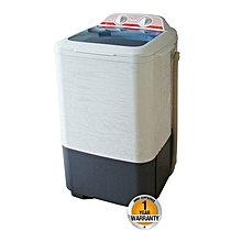 RW/130 -Top Load Semi Auto 7kg Washer Only - White & Grey