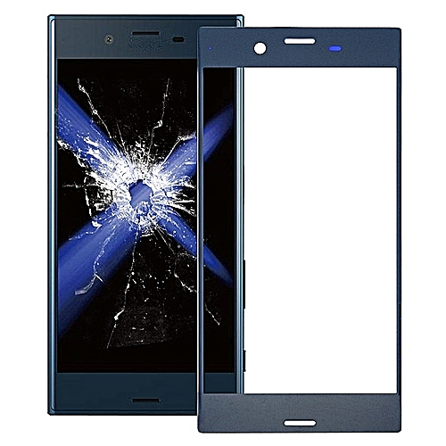 Front Screen Outer Glass Lens For Sony Xperia XZ (Blue)