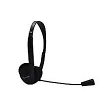 HS-350 Gaming Headphones. With Microphone.  - Black