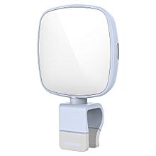 Rock ROCK O2 Mini 8 LEDs Mobile Phone Fill-in Flashlight Lightweight Design with Adjustable Lightness BLUE