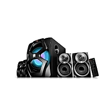 4.1CH High Tech Multimedia Speaker with Super Bass Woofer and Bluetooth - 13500 Watts