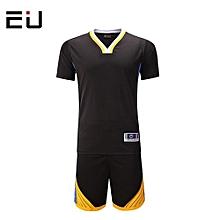 Customized Men's Basketball Training Sports Jersey Uniform-Black(1615)